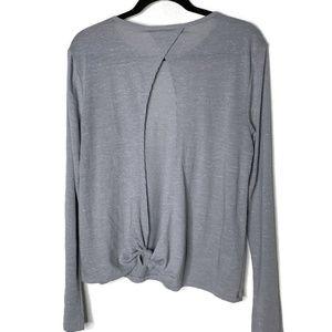 Victoria Sport Gray Long Sleeve T-shirt